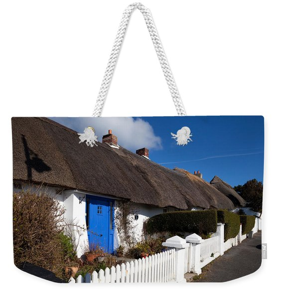 Thatched Cottages Near Dunmore Strand Weekender Tote Bag