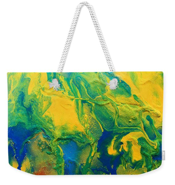 The Abstract Earth Weekender Tote Bag