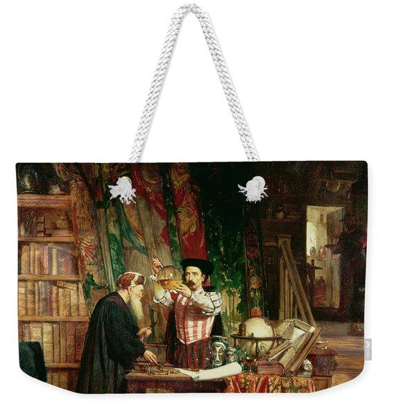 The Alchemist, 1853 Weekender Tote Bag