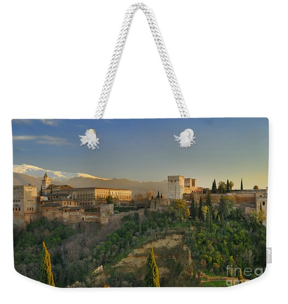 The Alhambra Palace Weekender Tote Bag