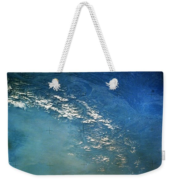 The Alps From Space Weekender Tote Bag