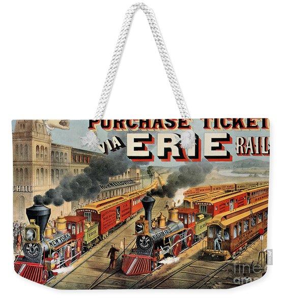 The American Railway Scene  Weekender Tote Bag