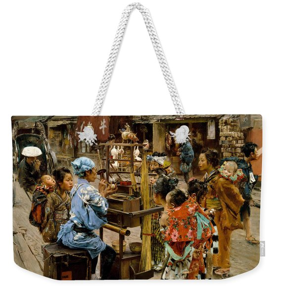 The Ameya Weekender Tote Bag