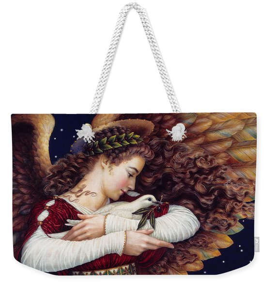 The Angel And The Dove Weekender Tote Bag