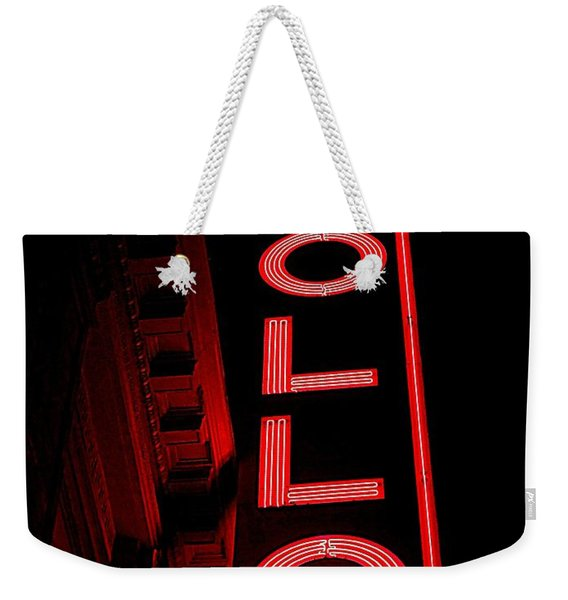 The Apollo Weekender Tote Bag