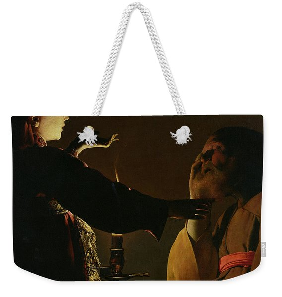 The Appearance Of The Angel To Saint Joseph Weekender Tote Bag