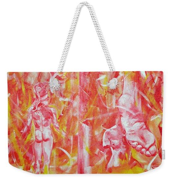 The Art Of Sculptures Weekender Tote Bag