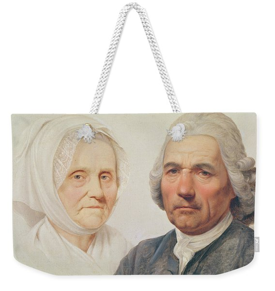 The Artists Parents Oil On Canvas Weekender Tote Bag