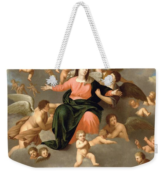 The Ascension Of The Virgin Weekender Tote Bag