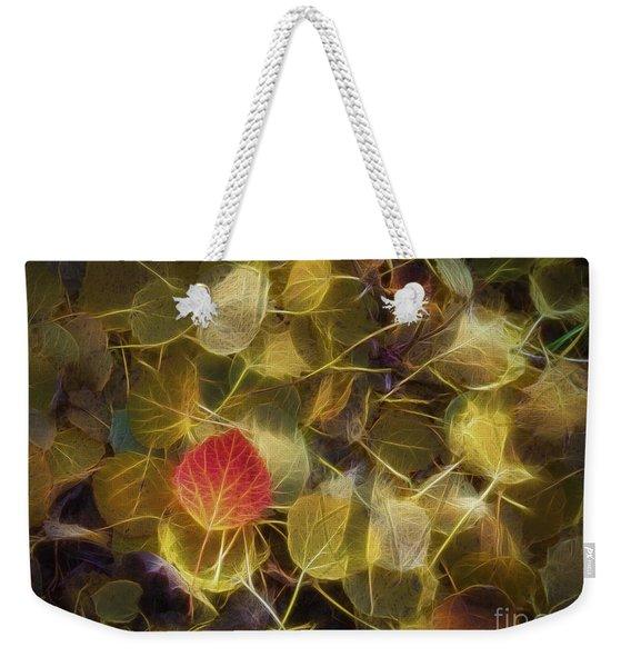 The Aspen Leaves Weekender Tote Bag