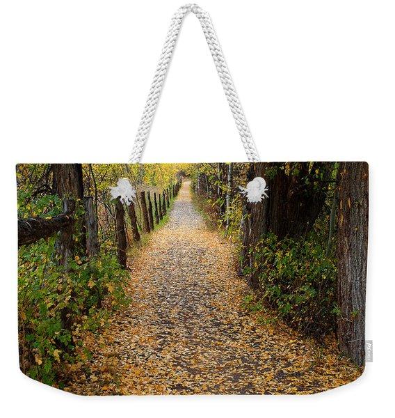 The Aspen Trail Weekender Tote Bag