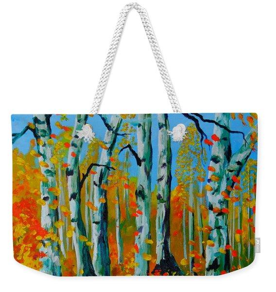 The Aspens Weekender Tote Bag