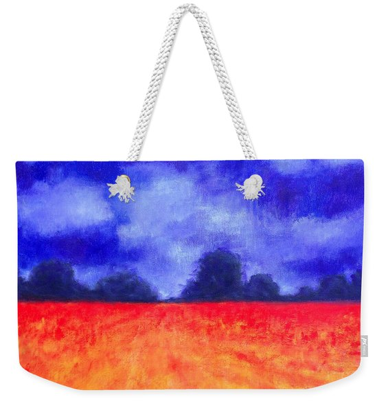 The Autumn Arrives Weekender Tote Bag