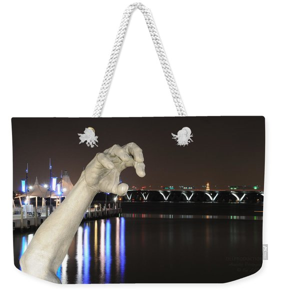 The Awakening Sculpture Weekender Tote Bag