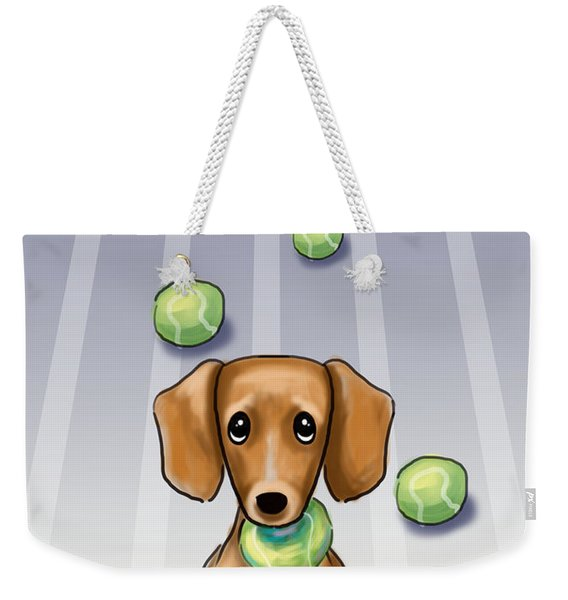 The Ball Catcher Weekender Tote Bag