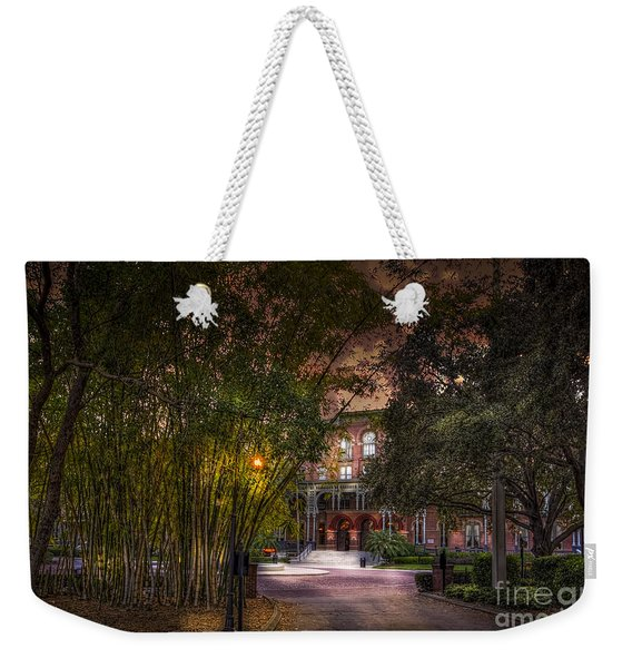 The Bamboo Path Weekender Tote Bag