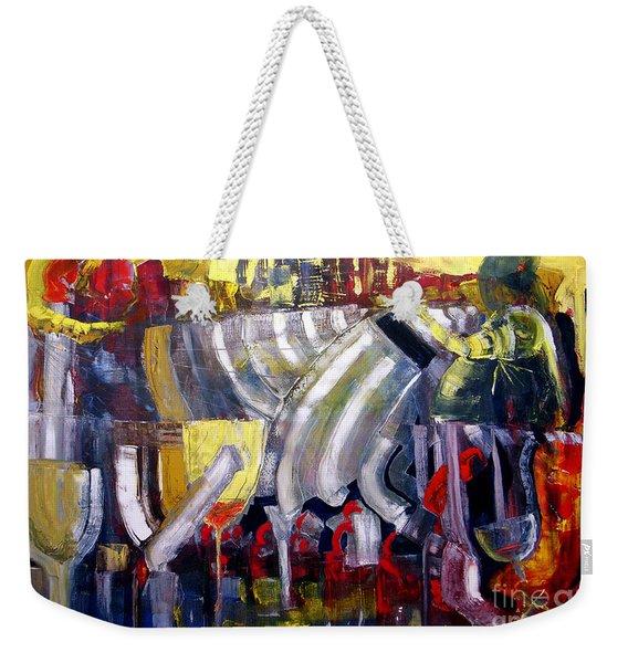 The Bar Scene Weekender Tote Bag