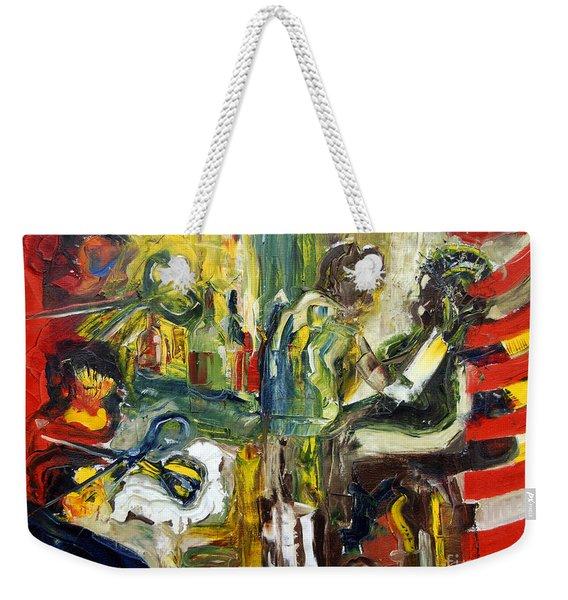 The Barbers Shop - 1 Weekender Tote Bag
