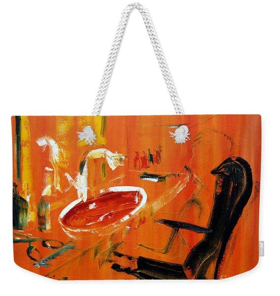 The Barbers Shop - 3 Weekender Tote Bag