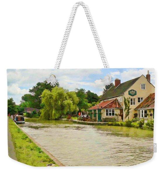 The Barge Inn Seend Weekender Tote Bag