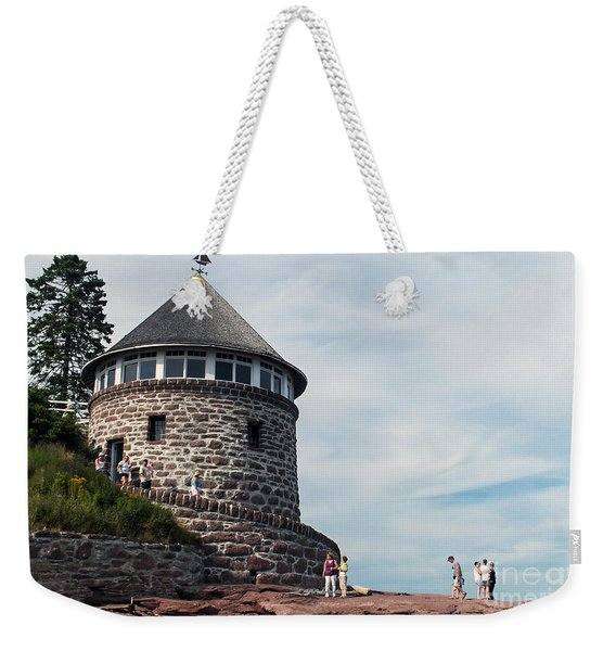 The Bath House On Ministers Island Nb Weekender Tote Bag