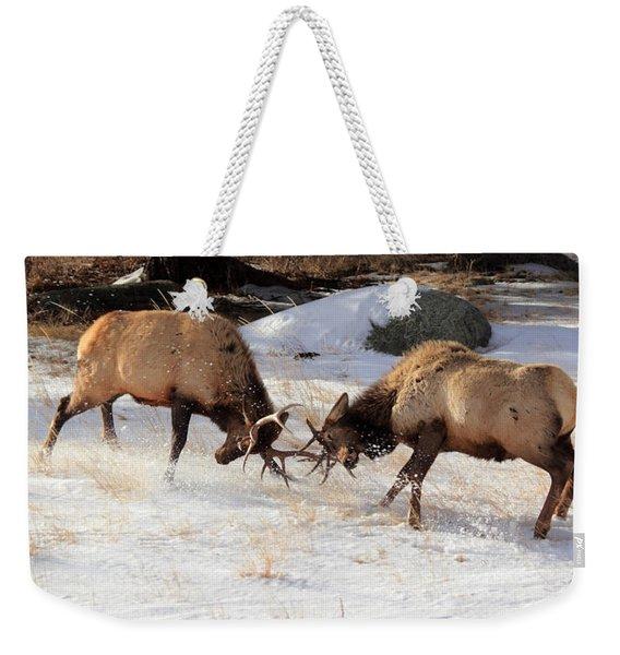 The Battle Weekender Tote Bag