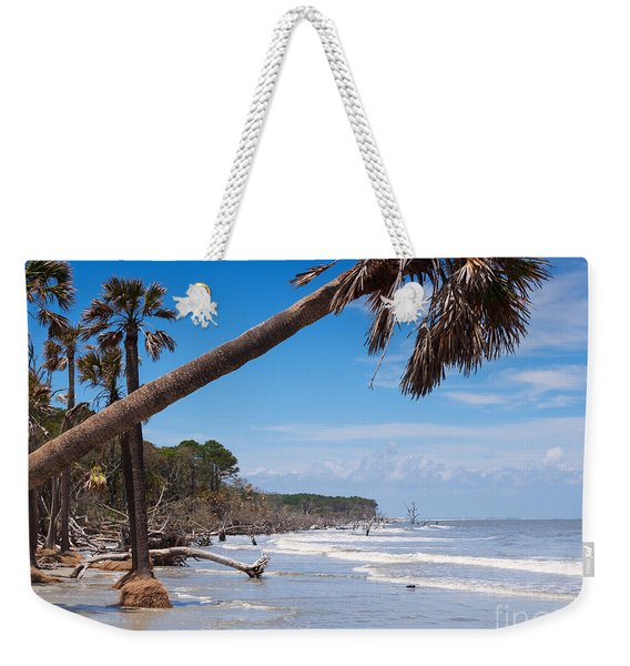 The Beach At Hunting Island State Park Weekender Tote Bag