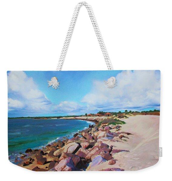 The Beach At Ponce Inlet Weekender Tote Bag