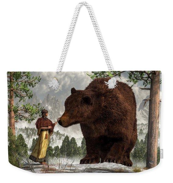 The Bear Woman Weekender Tote Bag