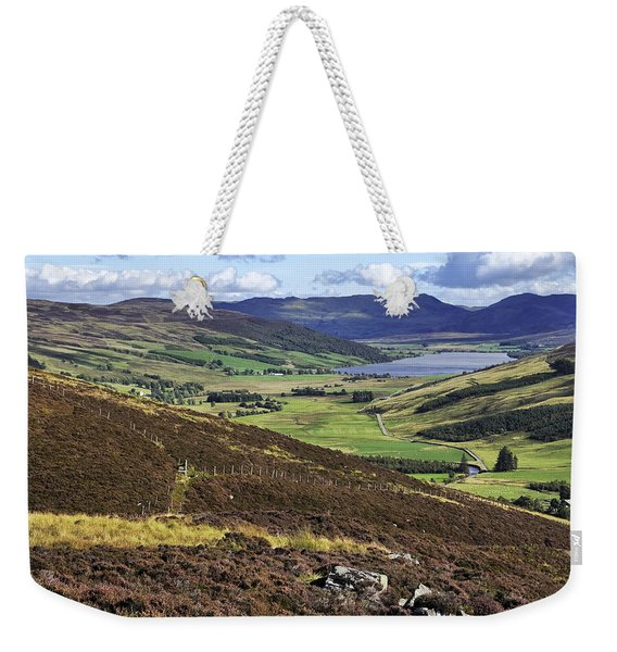 The Beauty Of The Scottish Highlands Weekender Tote Bag