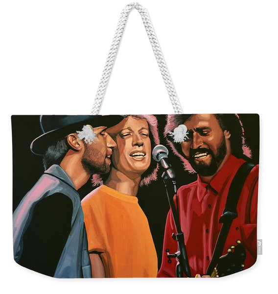 The Bee Gees Weekender Tote Bag