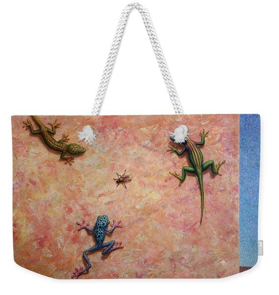 The Big Fly Weekender Tote Bag