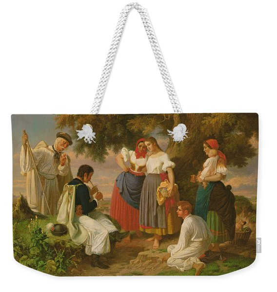 The Birth Of The Folk-song Weekender Tote Bag