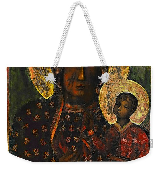 The Black Madonna Weekender Tote Bag