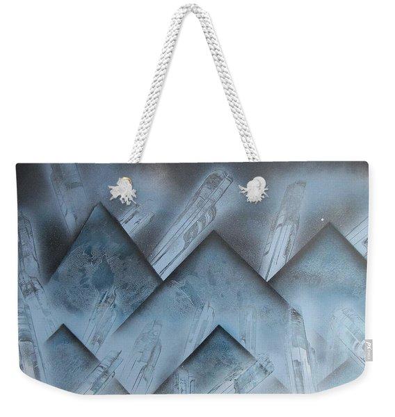 Blue Mountain Way Weekender Tote Bag