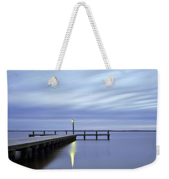 The Blues Lavallette New Jersey Weekender Tote Bag