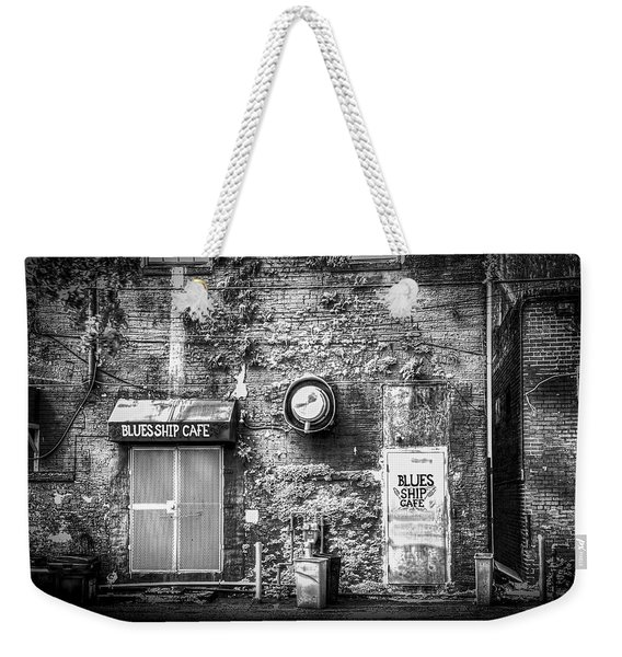 The Blues Ship Cafe Weekender Tote Bag