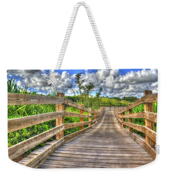 The Boardwalk Weekender Tote Bag