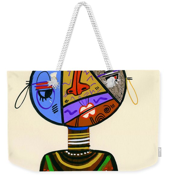 The Bold Face Of Time Weekender Tote Bag