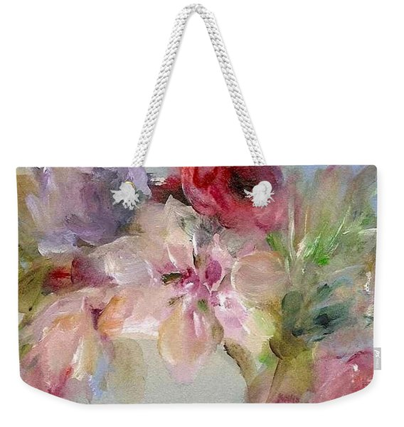 The Bouquet Weekender Tote Bag