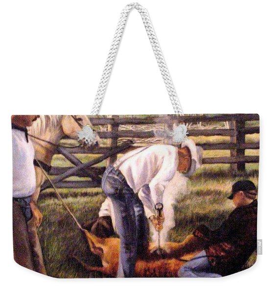 The Branding Weekender Tote Bag