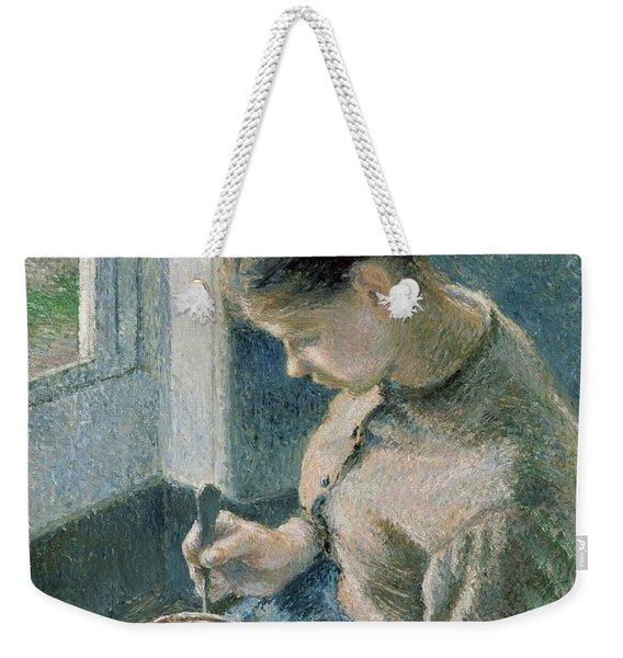 The Breakfast Weekender Tote Bag