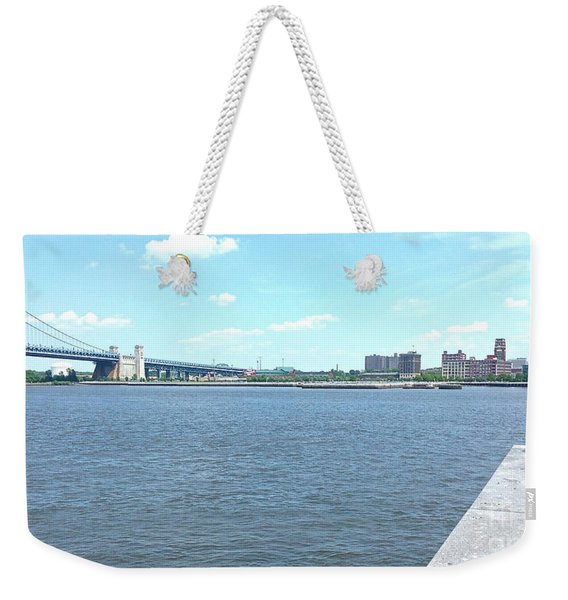 The Bridge And The River Weekender Tote Bag