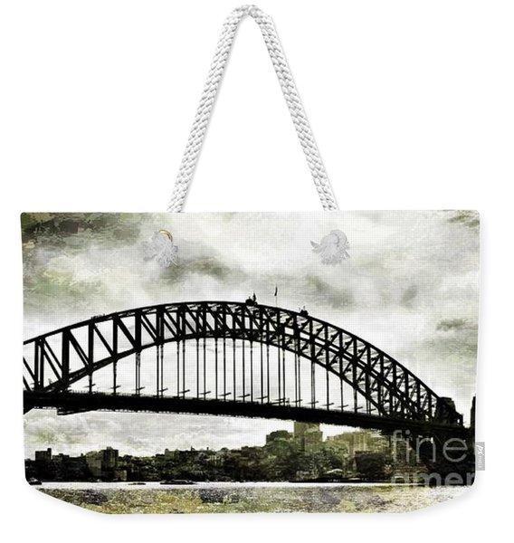 The Bridge Spattled Weekender Tote Bag