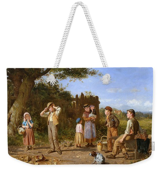 The Broken Jar Weekender Tote Bag