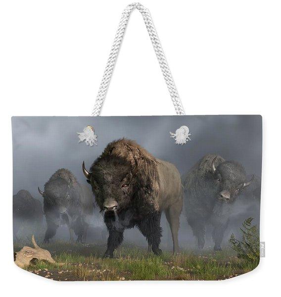 The Buffalo Vanguard Weekender Tote Bag