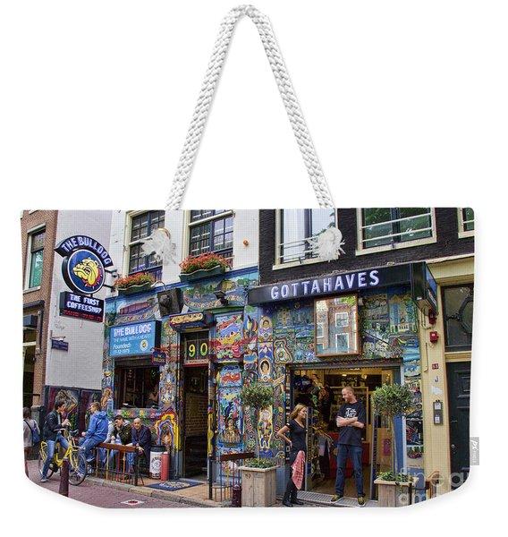 The Bulldog Coffee Shop - Amsterdam Weekender Tote Bag