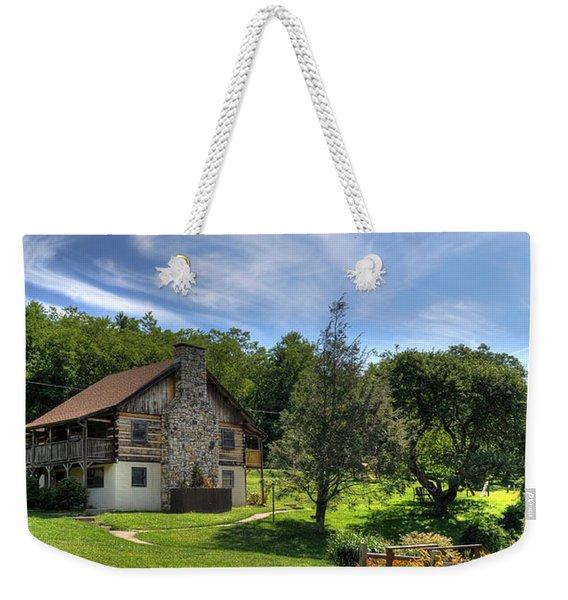 The Cabin Weekender Tote Bag