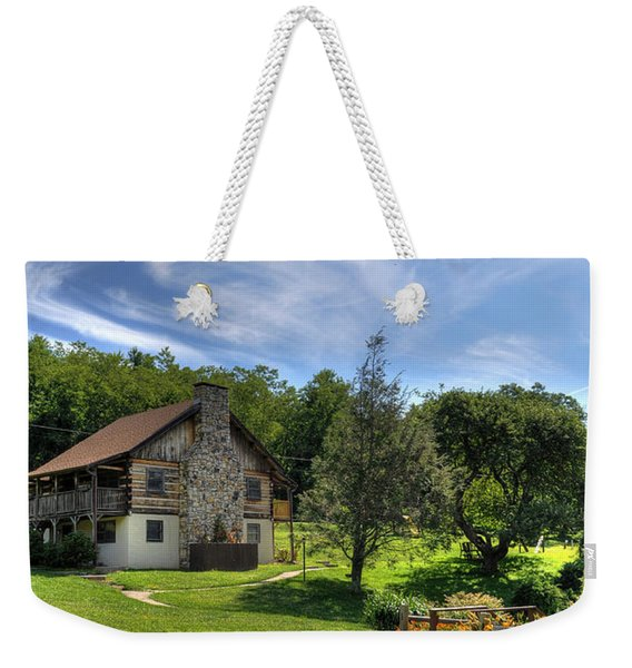 The Cabin Weekender Tote Bag