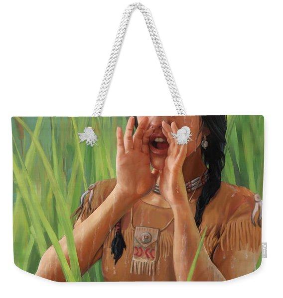 The Call Weekender Tote Bag